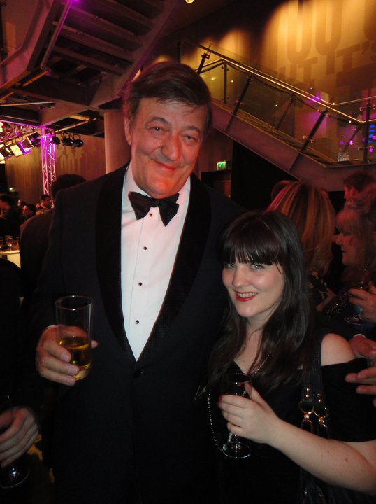 Stephen Fry National Television Awards London 2011