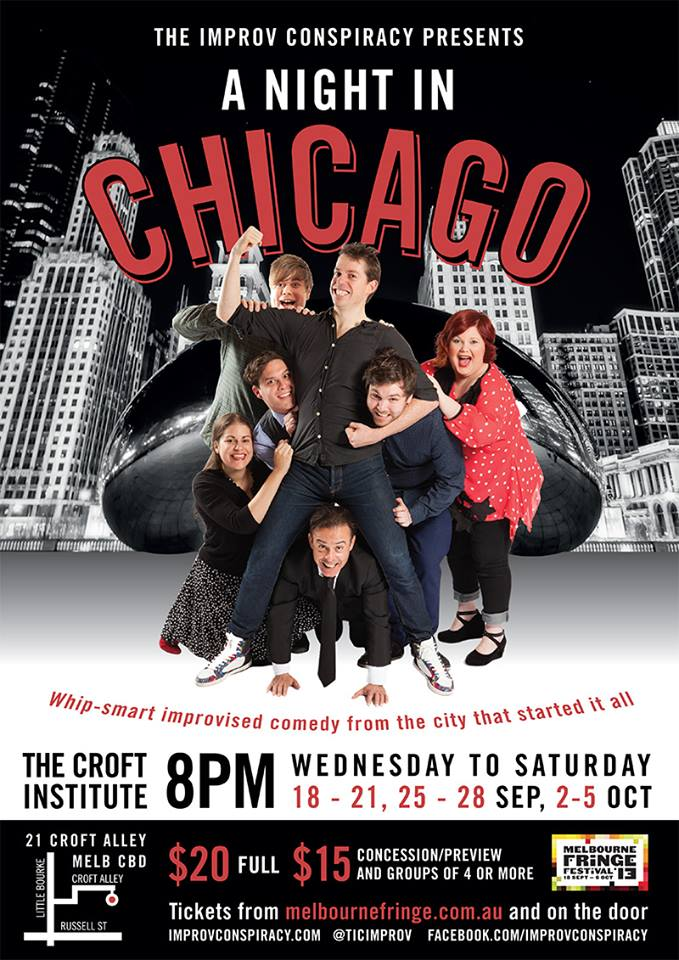 Improv Conspiracy - A Night in Chicago