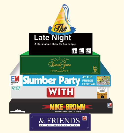 The Late Night Board Game Slumber Party - Melbourne Fringe