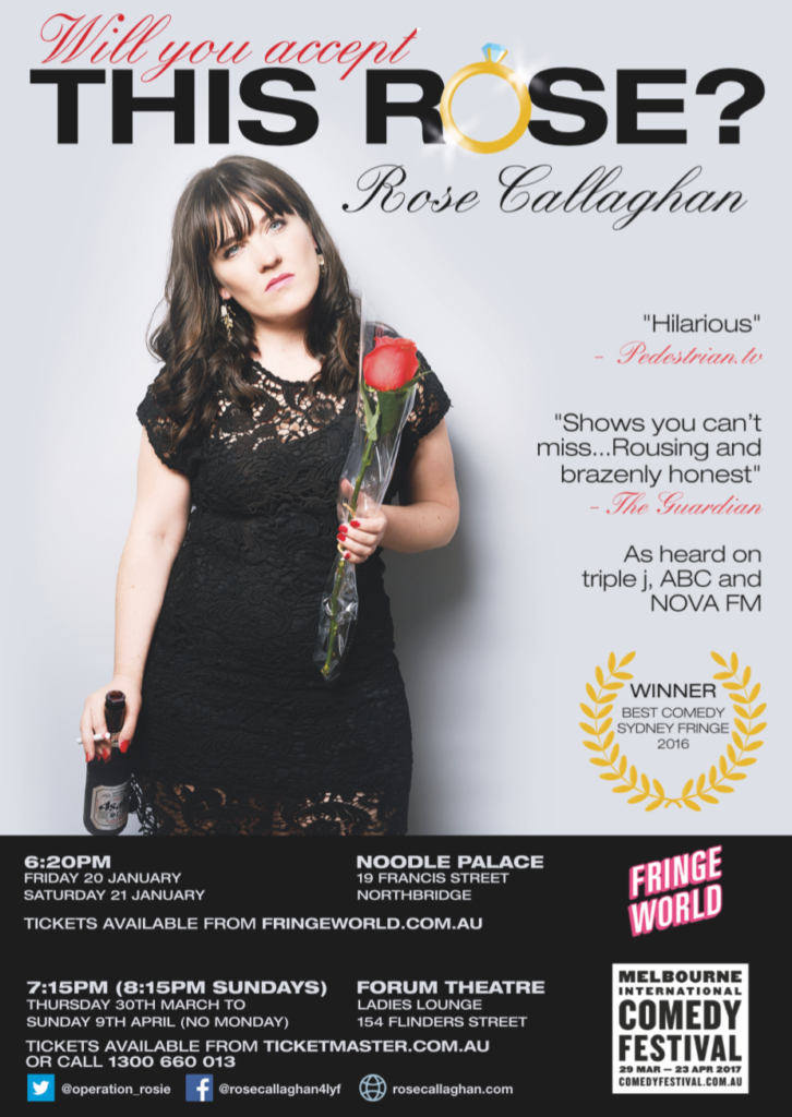 flyer, poster, Will you accept this Rose?