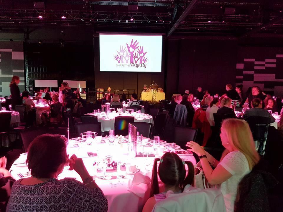 DigniTEA - 600 person charity event